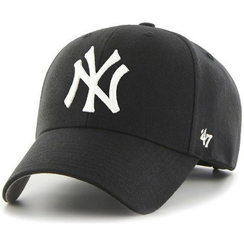 Cappellino visiera curva nero per bambino di New York Yankees MLB MVP di 47 Brand