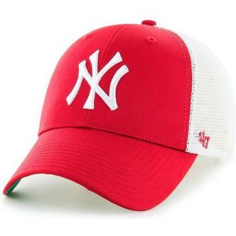 Cappellino trucker rosso di New York Yankees MLB MVP di 47 Brand