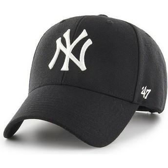 Cappellino visiera curva nero snapback di New York Yankees MLB MVP di 47 Brand
