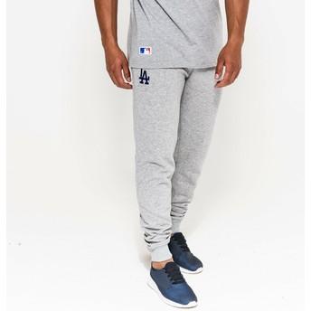 Pantaloni lunghi grigi Track Pant di Los Angeles Dodgers MLB di New Era