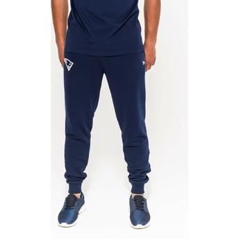 Pantaloni lunghi blu Track Pant di New England Patriots NFL di New Era