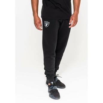 Pantaloni lunghi neri Track Pant di Oakland Raiders NFL di New Era