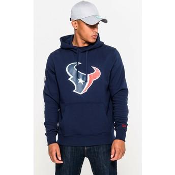 Felpa con cappuccio blu Pullover Hoodie di Houston Texans NFL di New Era