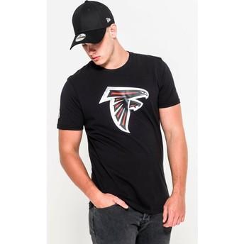 Maglietta maniche corte nera di Atlanta Falcons NFL di New Era