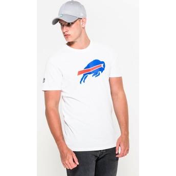 Maglietta maniche corte bianca di Buffalo Bills NFL di New Era