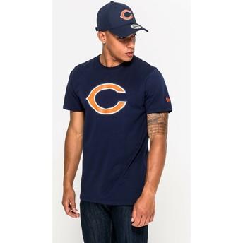 Maglietta maniche corte blu di Chicago Bears NFL di New Era