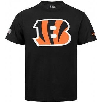 Maglietta maniche corte nera di Cincinnati Bengals NFL di New Era