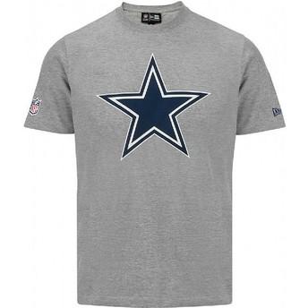 Maglietta maniche corte grigia di Dallas Cowboys NFL di New Era