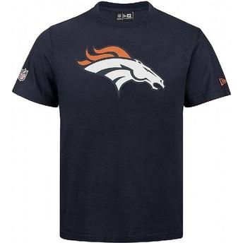 Maglietta maniche corte blu di Denver Broncos NFL di New Era
