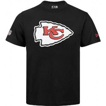 Maglietta maniche corte nera di Kansas City Chiefs NFL di New Era