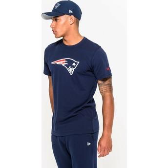 Maglietta maniche corte blu di New England Patriots NFL di New Era