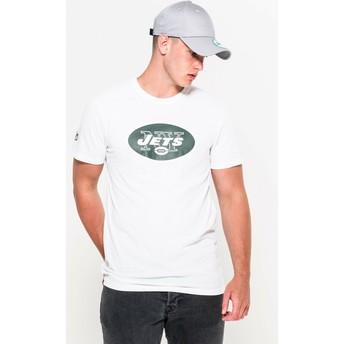 Maglietta maniche corte bianca di New York Jets NFL di New Era