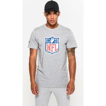 Maglietta maniche corte grigia di NFL di New Era