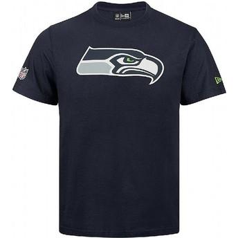 Maglietta maniche corte blu di Seattle Seahawks NFL di New Era