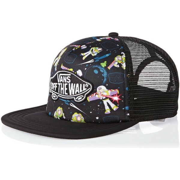 cappellino-trucker-nero-con-buzz-lightyear-toy-story-classic-patch-di-vans