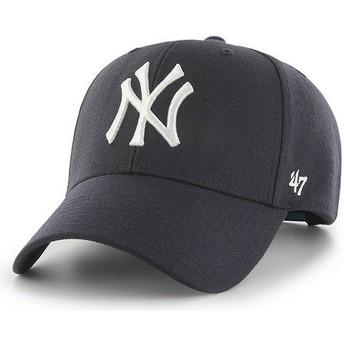 Cappellino visiera curva blu marino snapback di New York Yankees MLB MVP di 47 Brand