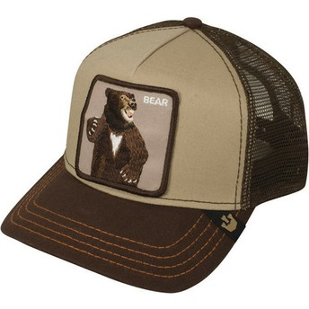 Cappellino trucker marrone orso Lone Star di Goorin Bros.