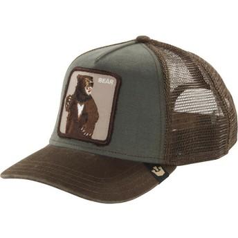 Cappellino trucker verde orso Lone Star di Goorin Bros.