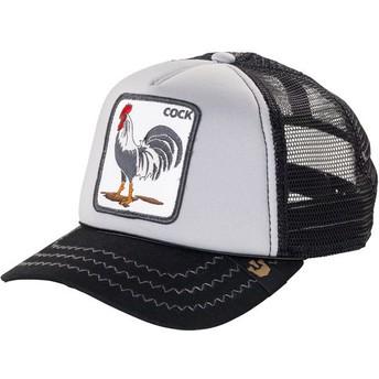 Cappellino trucker grigiogallo Checkin Traps di Goorin Bros.