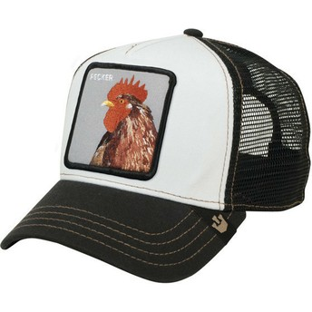 Cappellino trucker nero gallo Plucker di Goorin Bros.