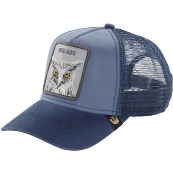 Cappellino trucker blu búho Smarty Pants di Goorin Bros.