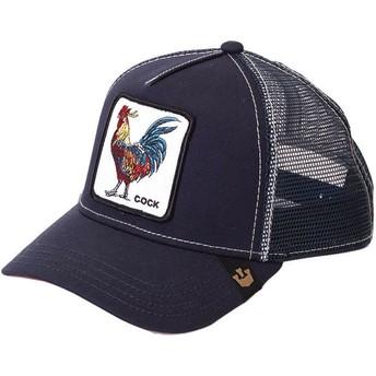 Cappellino trucker blu marino Gallo di Goorin Bros.