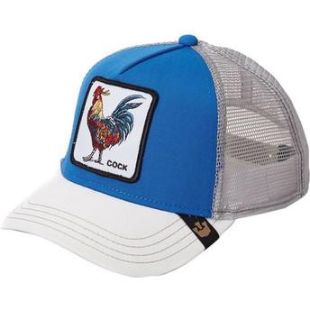 Cappellino trucker blu Gallo di Goorin Bros.