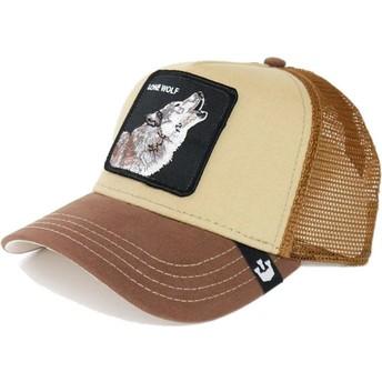 Cappellino trucker marrone lupoHowler di Goorin Bros.
