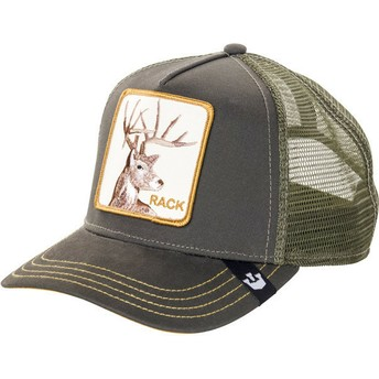 Cappellino trucker verde ciervo Rack di Goorin Bros.