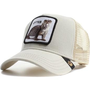 Cappellino trucker pietra nutria Otter di Goorin Bros.