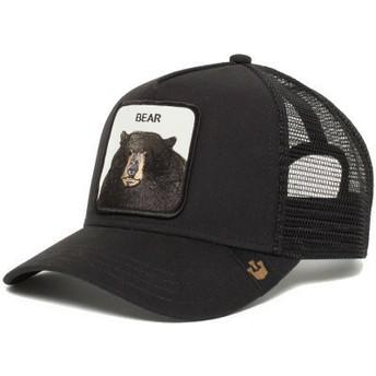 Cappellino trucker nero orso Black Bear di Goorin Bros.