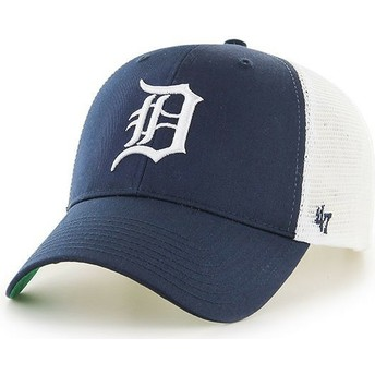 Cappellino trucker blu marino di Detroit Tigers MLB MVP Branson di 47 Brand