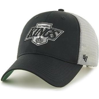 Cappellino trucker nero e biancode Los Angeles Kings NHL MVP Branson di 47 Brand