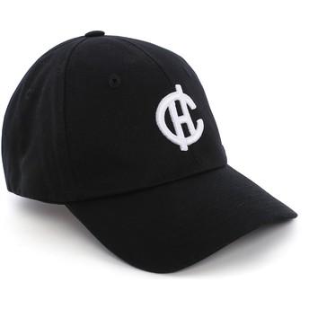 Cappellino visiera curva nero Aspen con logo CH di Caphunters