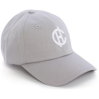 Cappellino visiera curva grigio Aspen con logo CH di Caphunters