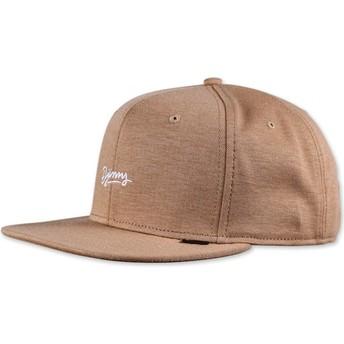 Cappellino 6 pannelli marrone Maglione Aloha di Djinns