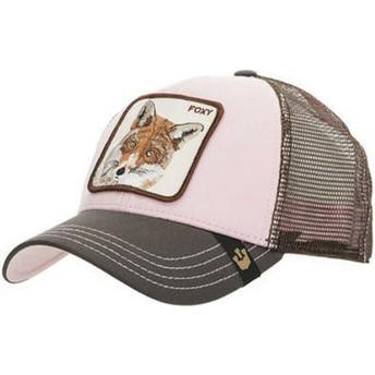 Cappellino trucker rosa volpe Foxy Baby di Goorin Bros.