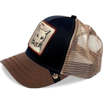 Cappellino trucker blu marino puma Cougar di Goorin Bros.