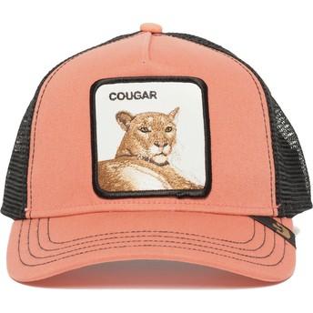 Cappellino trucker rosa puma Cougar Town di Goorin Bros.