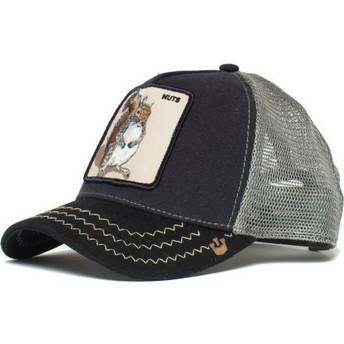 Cappellino trucker blu marino scoiattolo Squirrel Master di Goorin Bros.