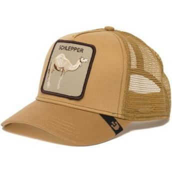 Cappellino trucker marrone dromedario Hump Day di Goorin Bros.