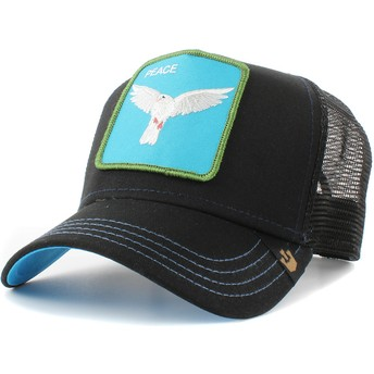 Cappellino trucker nero colomba Peace Keeper di Goorin Bros.