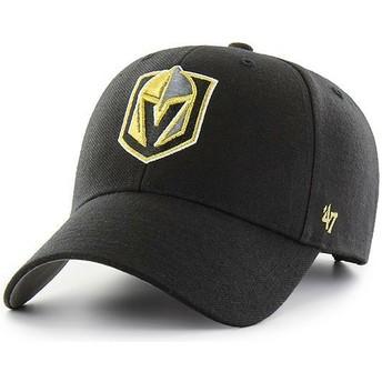 Cappellino visiera curva nero di Vegas Golden Knights NHL MVP di 47 Brand