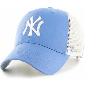 Cappellino trucker blu chiaro di New York Yankees MLB MVP Branson di 47 Brand