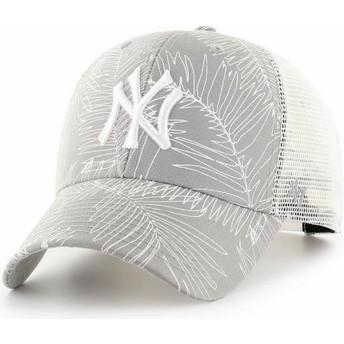 Cappellino trucker grigio de New York Yankees MLB MVP Palma di 47 Brand