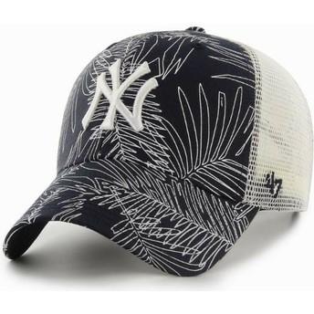 Cappellino trucker blu marino di New York Yankees MLB MVP Palma di 47 Brand