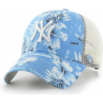 Cappellino trucker blu di New York Yankees MLB MVP South Coast di 47 Brand