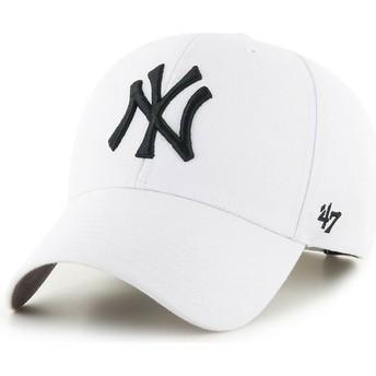 Cappellino visiera curva bianco snapback di New York Yankees MLB MVP di 47 Brand