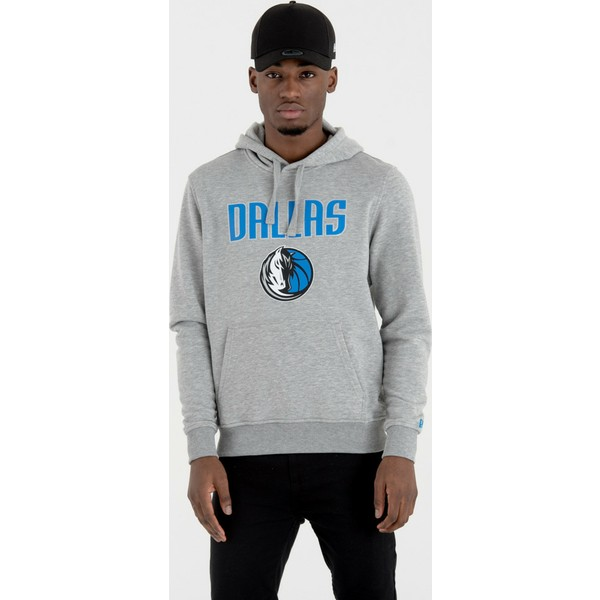 felpa-con-cappuccio-grigia-pullover-hoody-di-dallas-mavericks-nba-di-new-era