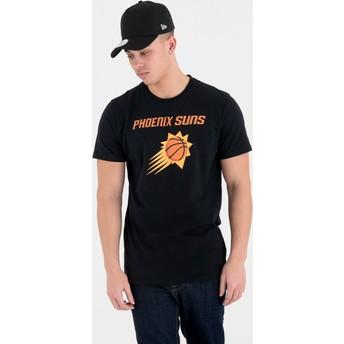 Maglietta maniche corte nera di Phoenix Suns NBA di New Era